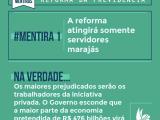Reforma da Previdência...8 Mentiras que você vai ouvir