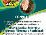 Seminario Estadual Soberania e Segurança Alimentar e Nutricional