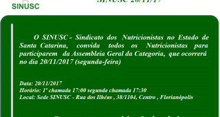 Assembleia SINUSC 20.11.17