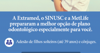 Nova parceria SINUSC: METLIFE PLANOS ODONTOLÓGICOS