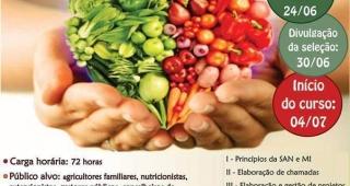Curso EAD de formação em Segurança Alimentar e Nutricional