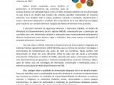 Nota Informativa das Iniciativas de Promoção da Alimentação Saudável