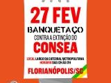*Banquetaço - Pró Consea* Contra a extinção do Conselho Nacional de Segurança Alimentar e Nutricional (CONSEA)