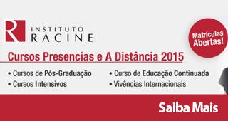 Instituto Racine Matrículas Abertas